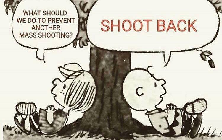 What can we do to Prevent Mass Shooting? Shoot Back.
