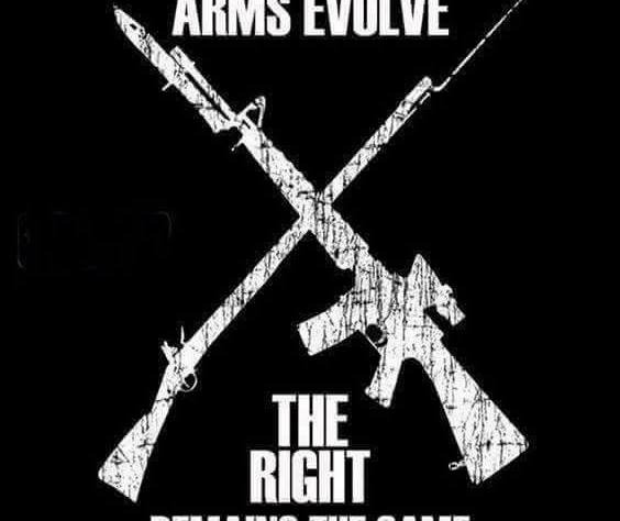 Arms Evolve. The Right Remains the Same.