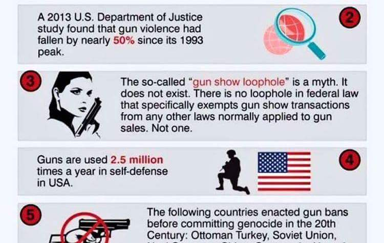5 Facts about Gun Control