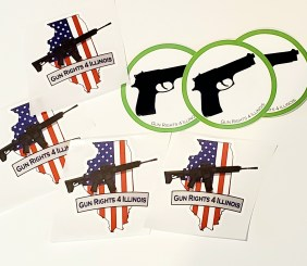 GunRights4Illinois Stickers