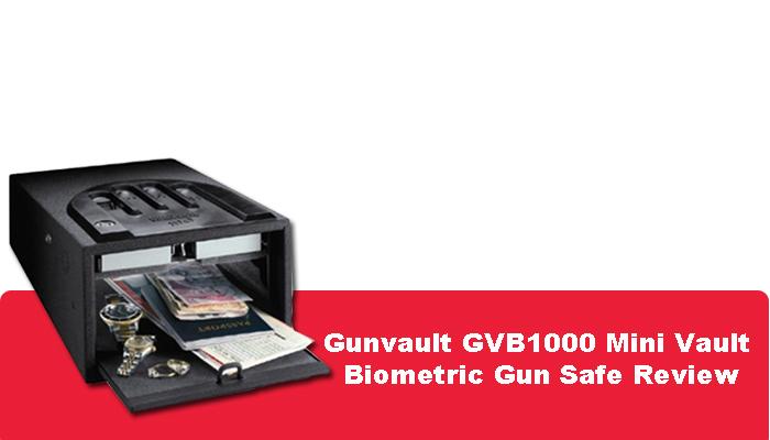 Gunvault GVB1000 Mini Vault Biometric Gun Safe Review