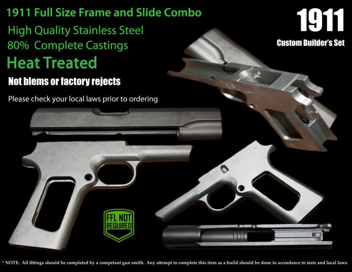 stainless steel 1911 frame and slide | foxytoon co