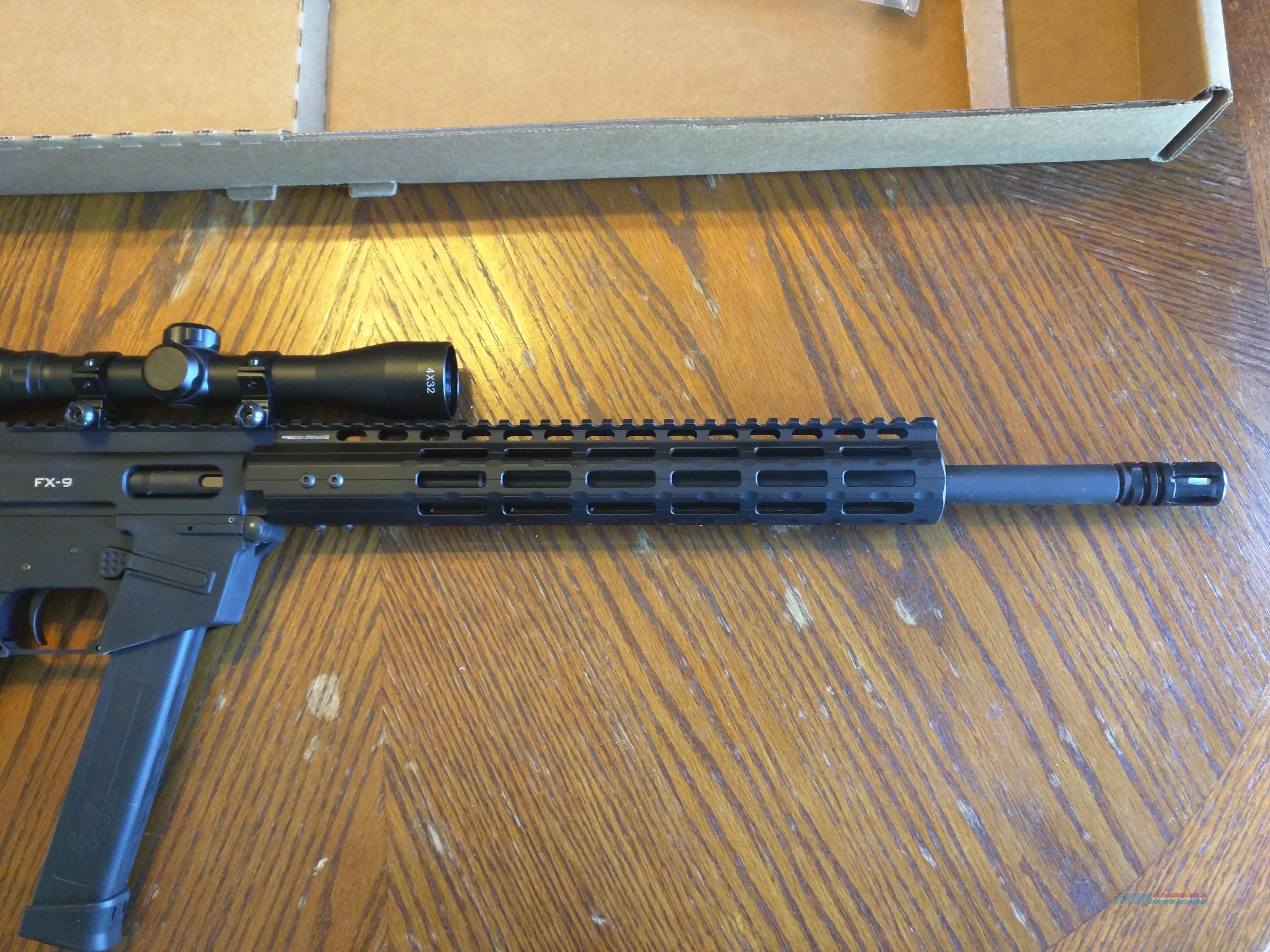 Freedom Ordnance Ar15 Ar 15 Ar 9mm 4x32 Scope A For Sale