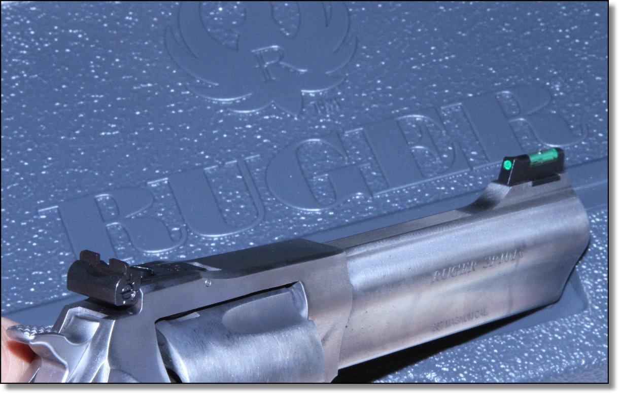 New Ruger Sp101 4 2 W Adjustable Sights