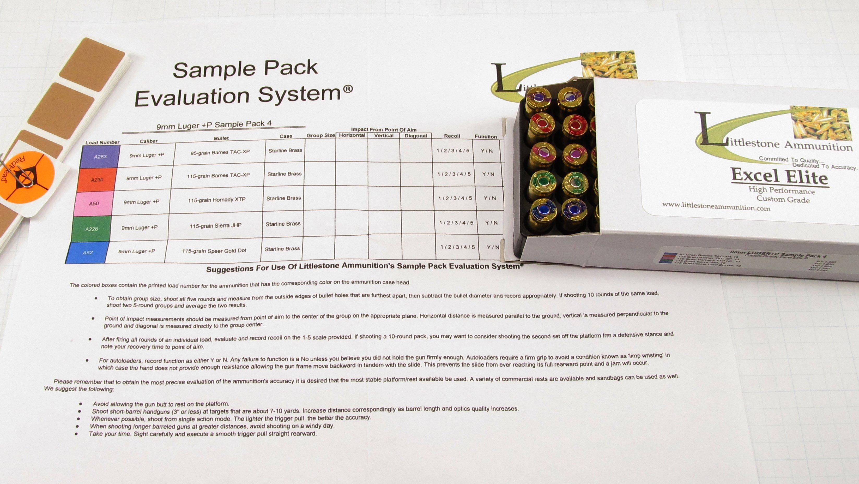 Littlestone Ammunition Sample Pack And Sureshot Review