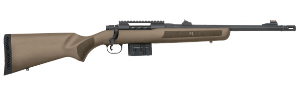 The MVP Patrol is also available with a tan-colored stock.