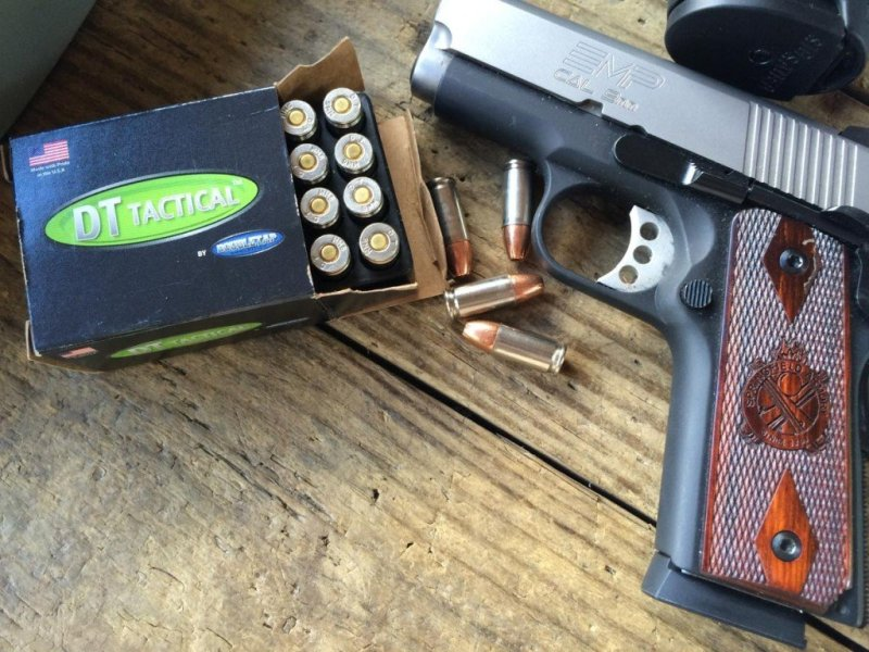 Recoil was shockingly light when fired from this Springfield Armory EMP.