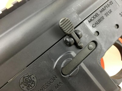 Unlike other .22 caliber AR rifles, the controls actually work.
