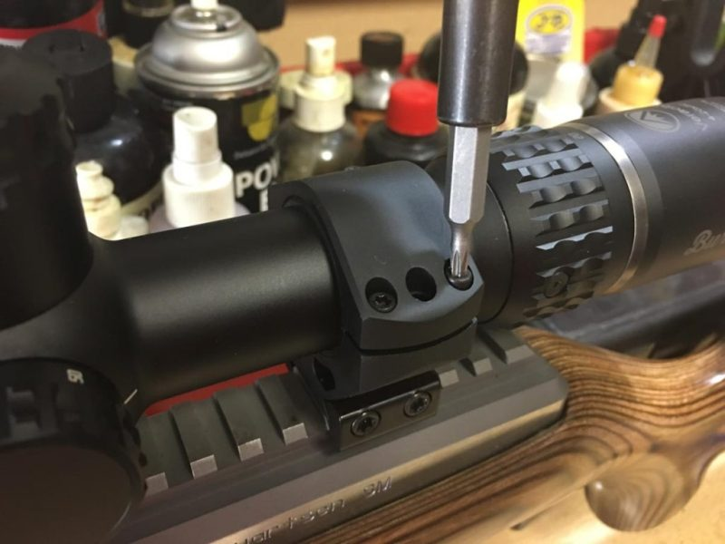 I mounted the Burris Veracity with Burris XTR Signature rings.
