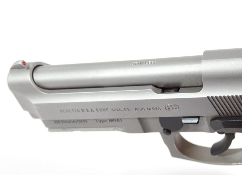 The open top slide design is one of the primary reasons that Beretta pistols are so reliable.