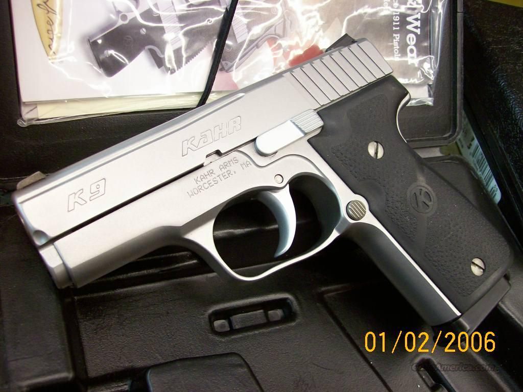 Kahr K9 Customized By Cylinder Amp Slide For Sale