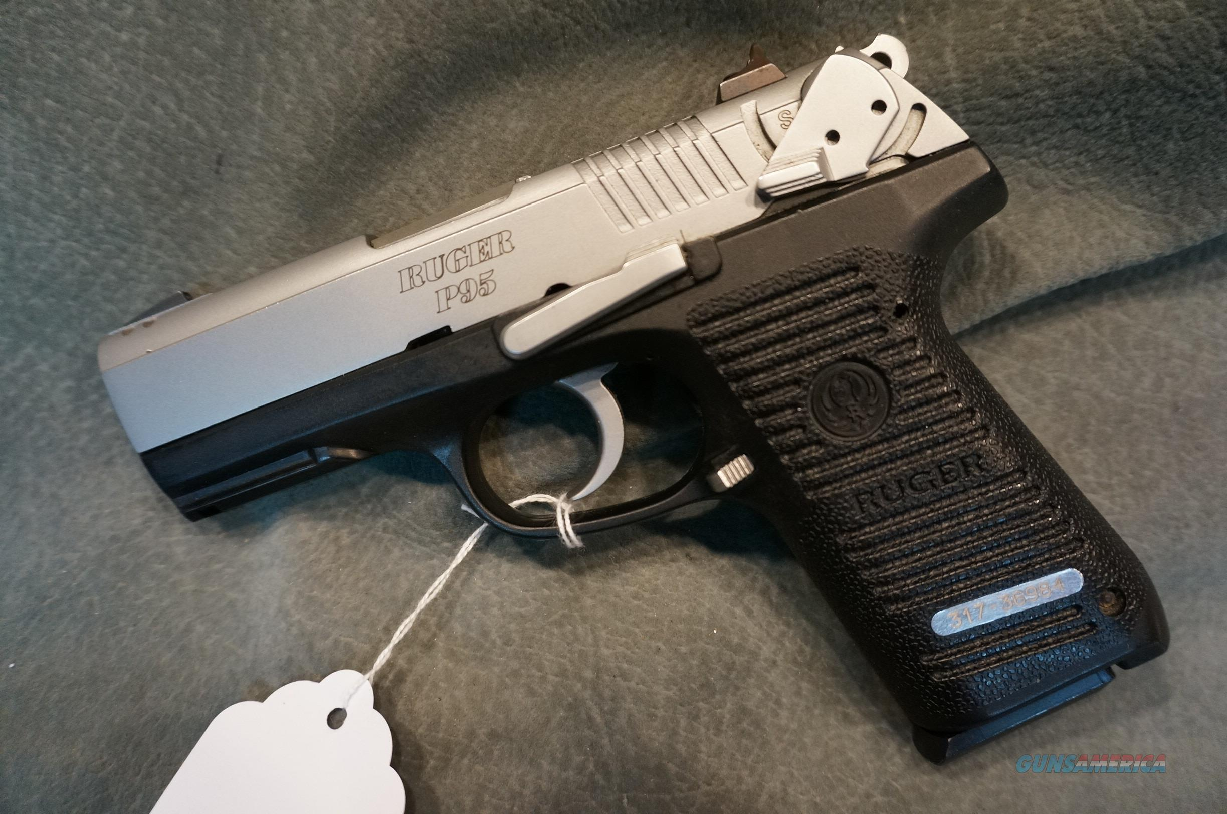 Ruger P95 9mm Stainless For Sale