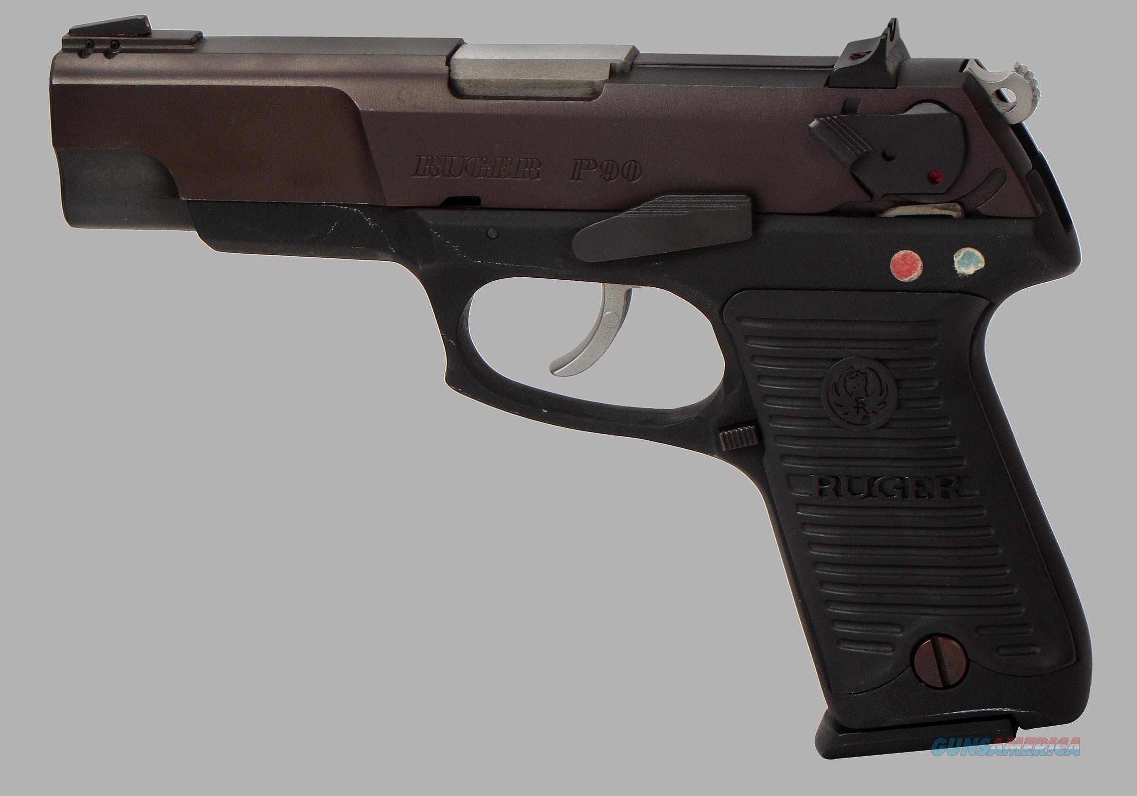 Ruger 45acp P90 Pistol For Sale