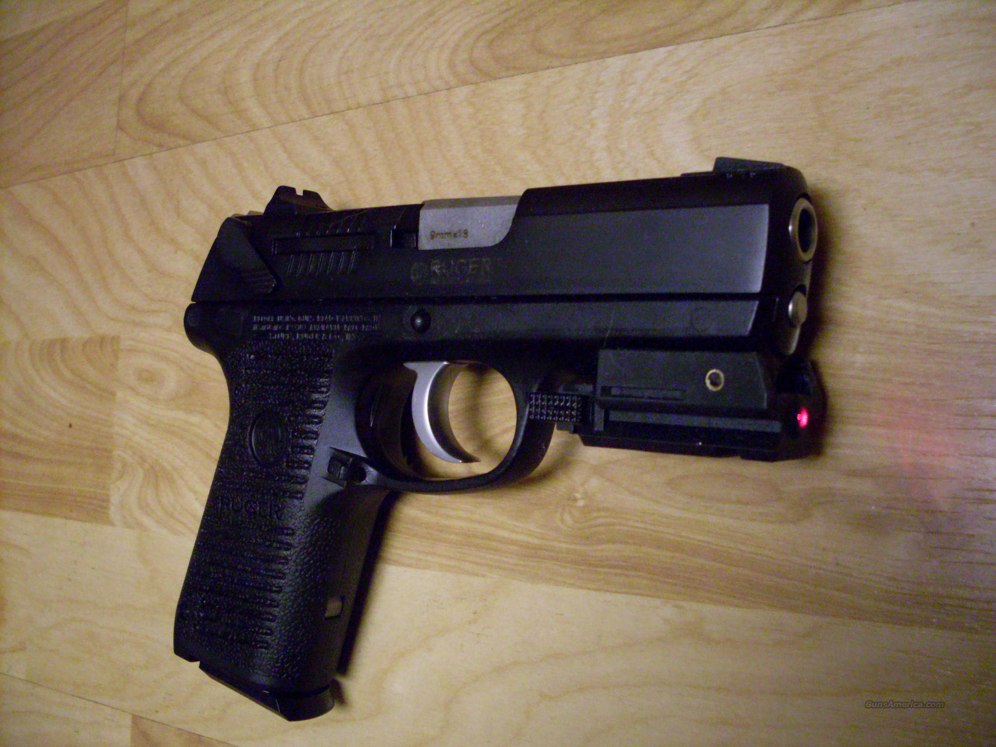 New Ruger P95 9 Mm With Optional Laser Sight For Sale
