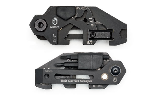 Securely held together by a series of magnets, Gerber's Short Stack can ride discreetly in your range bag until you need it.