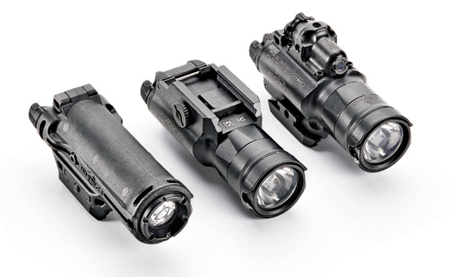 The MasterFire RDH retention system is compatible with Surefire lights including the XH15, X300UH and X400UH models.