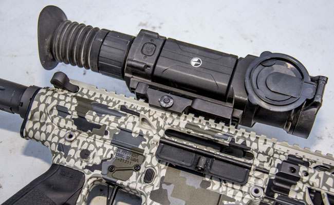 The Pulsar Trail on a 2A Armament XLR .308 AR-10.