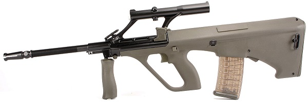 Steyr AUG A1 side profile facing left