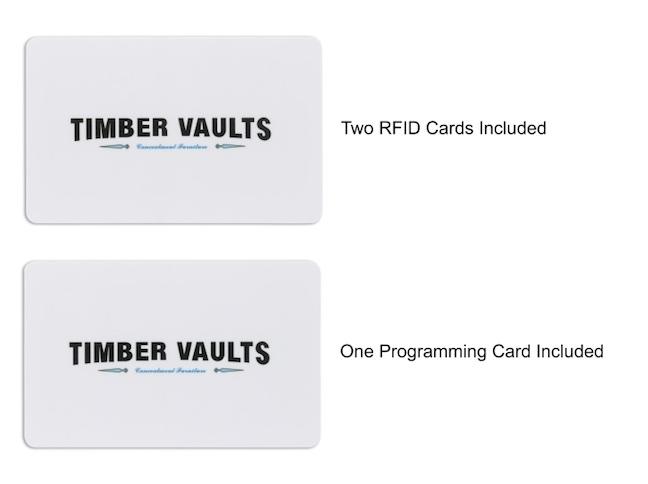 TimberVaults RFID Cards