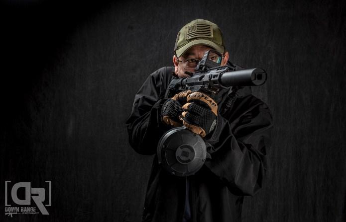 Down Range Photography - Rainier Arms 9mm Billet Receiver Set Build
