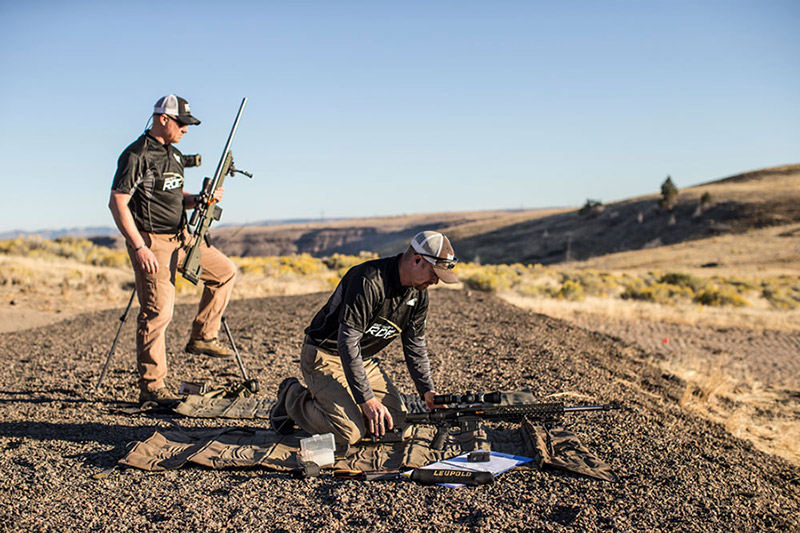 RDF Shooter Range Prepping