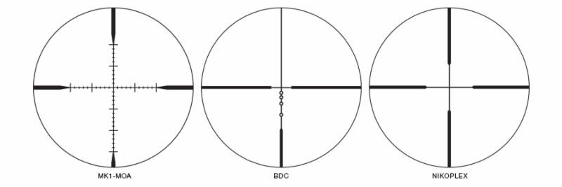 Nikon MONARCH Reticle