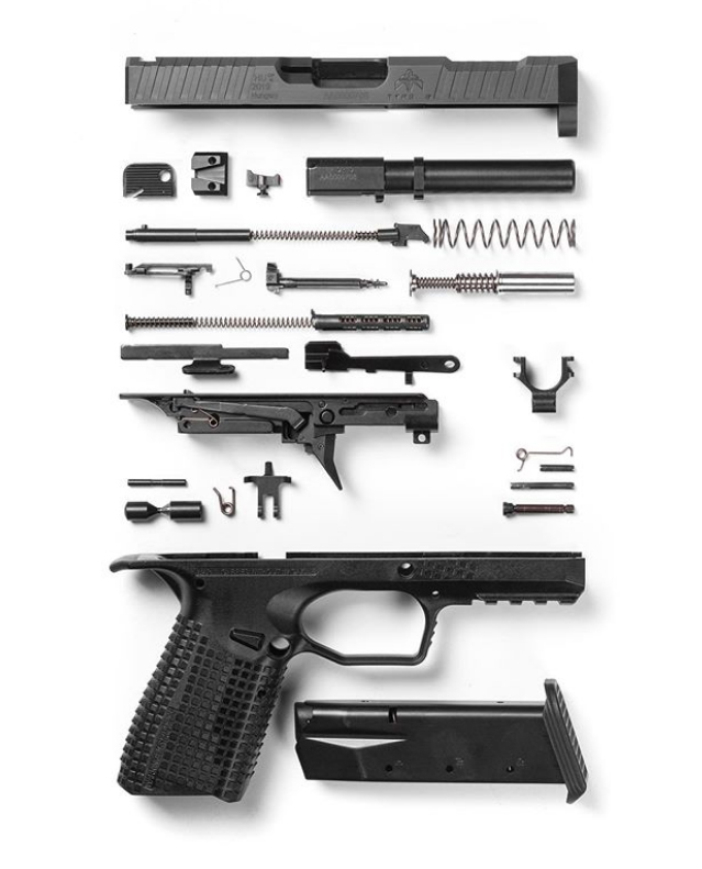 Archon Firearms flagship weapon laid out in all its glory.