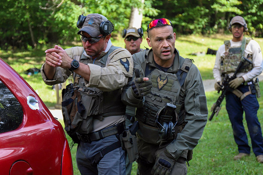 88 Tactical's High Threat Vehicle Engagement course 4