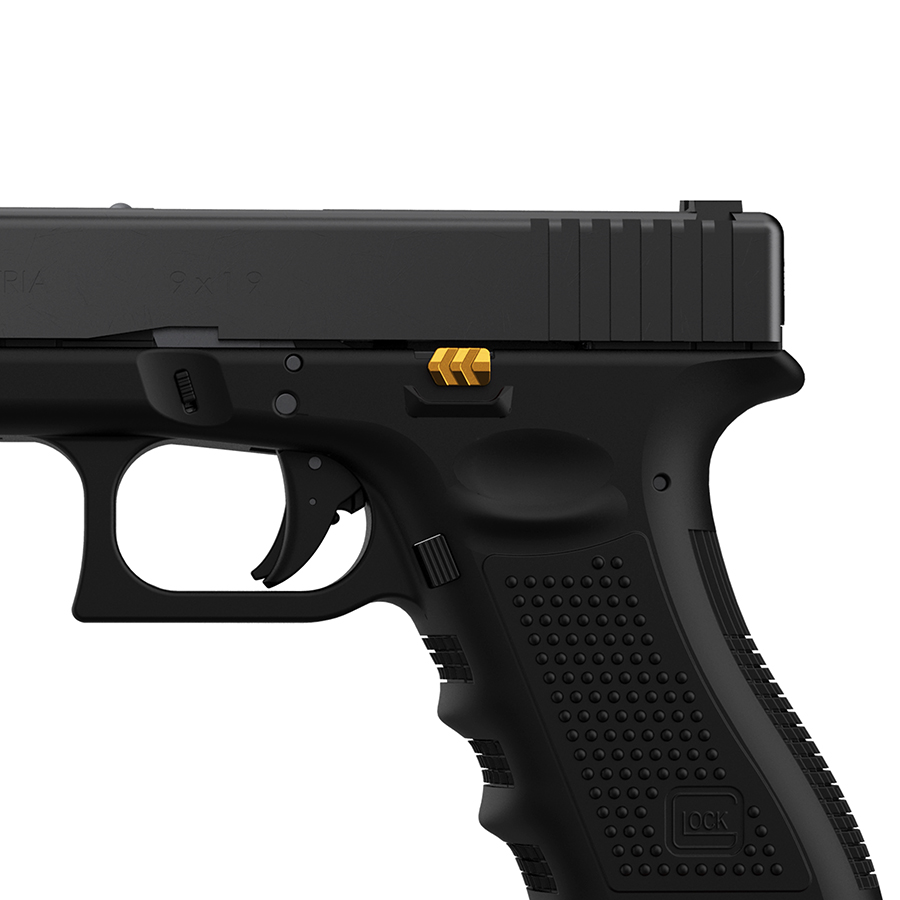 Tyrant-Designs-CNC-Glock-Extended-Slide-Release-Gold