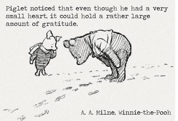 Piglet-Gratitude