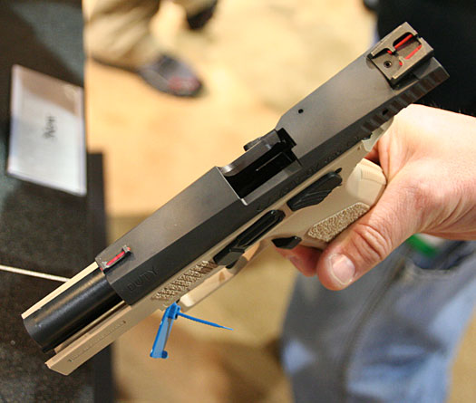CZ P-07 Tactical Prototype Pistol
