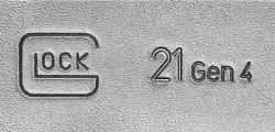 Gen4 Glock 21 logo