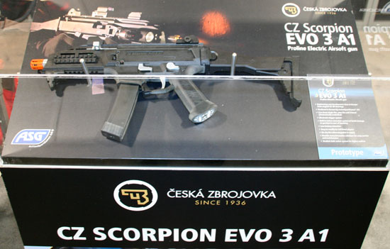 CZ Scorpion Airsoft