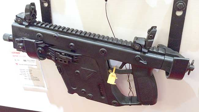 KRISS Vector pistol