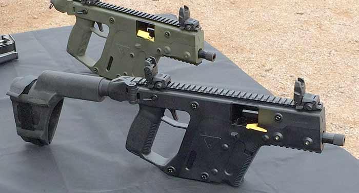 Kriss Vector pistols