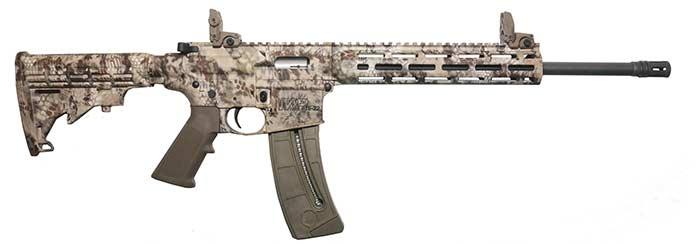 Smith & Wesson M&P 15-22 kryptek