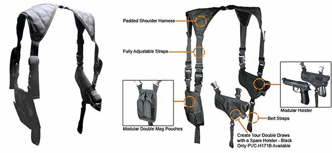 UTG shoulder harness
