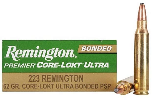 Remington Core Lokt Ultra 223 ammo