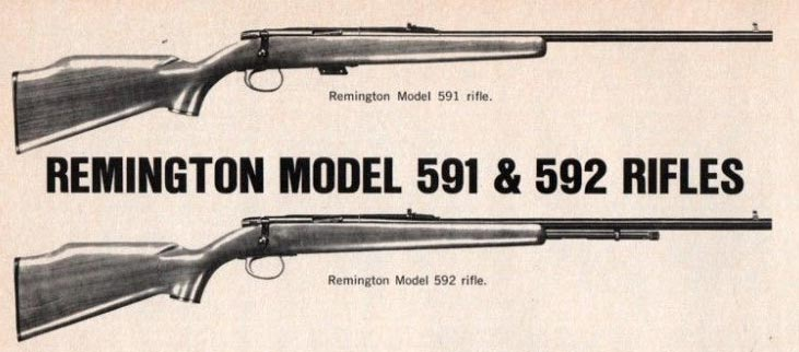 Remington 591 and 592 Rifles