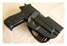 Uncle Mike's kydex paddle holster for Sig P226