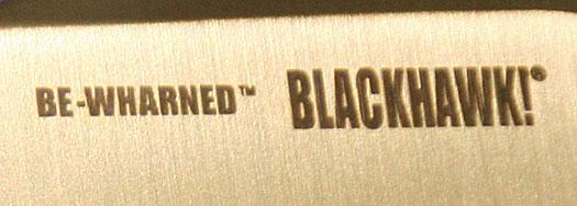 Blackhawk BeWharned Review