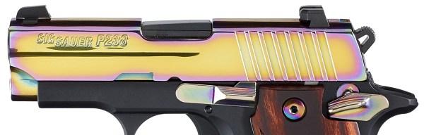 SIG P238 Rainbow slide