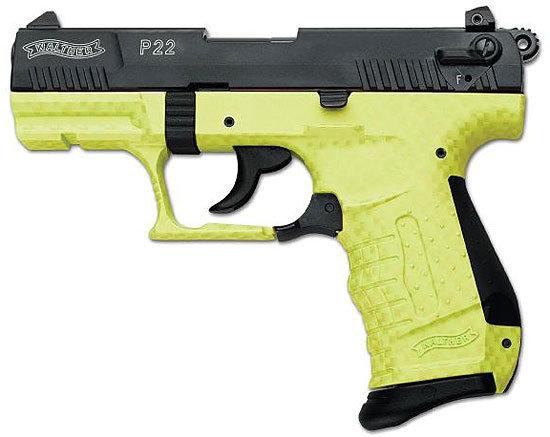 Lime Green Walther P22