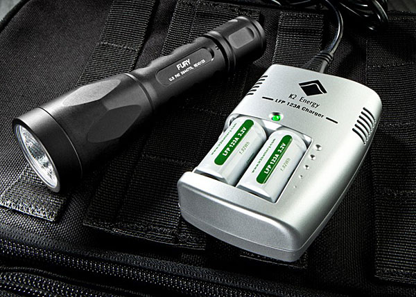 Surefire Rechargeable 123A batteries