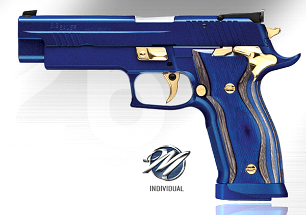 SIG P226 X-Five Blue Pearl