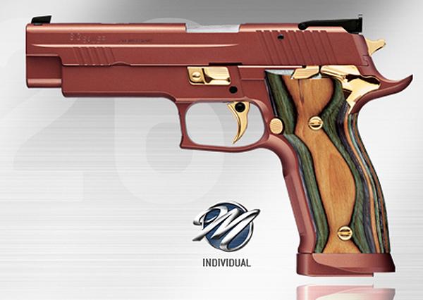 SIG P226 X-Five Golden Dragon