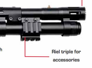 shotgun tri-rail