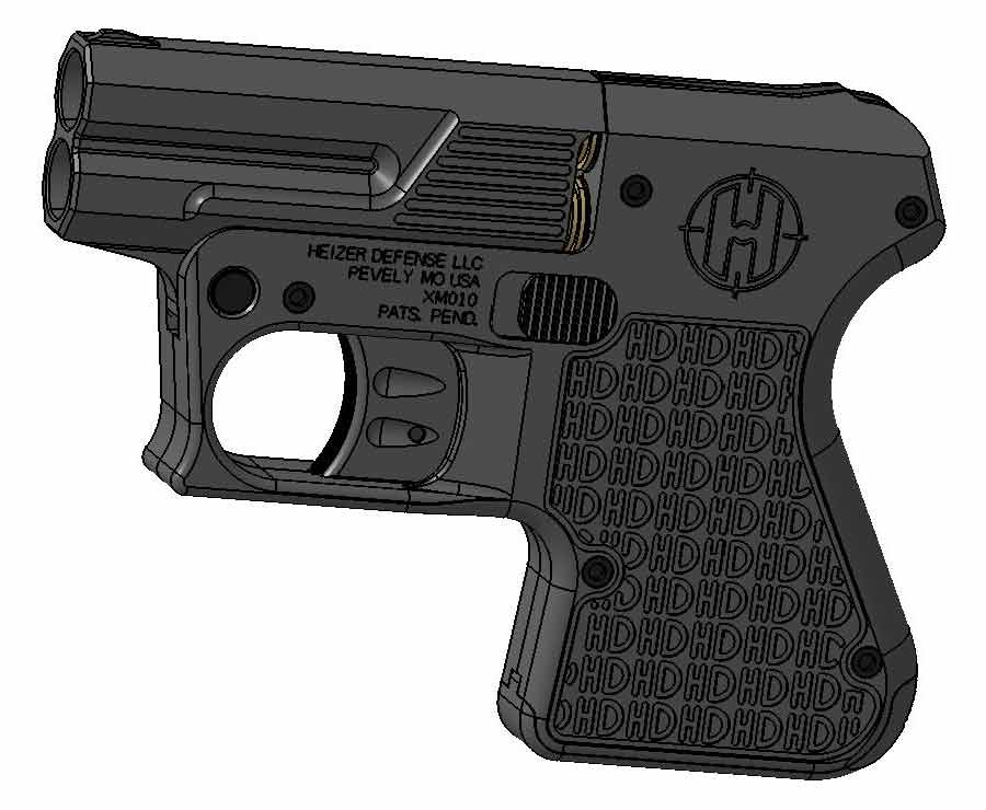 Heizer Defense handgun