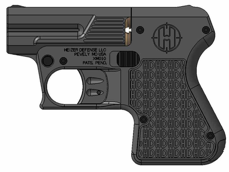 Heizer Defense pistol