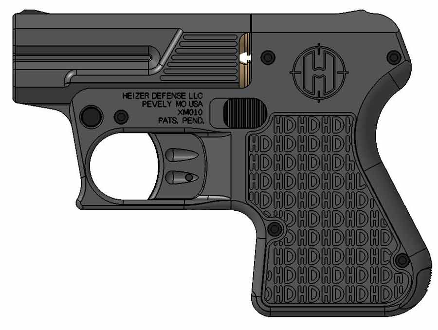 Heizer Defense pistol